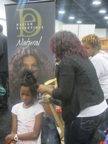 Taliah Waajid  World Natural Hair Show 2012