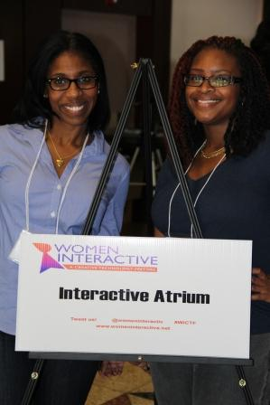 Women Interactive Founders Sabrina Harvey and Ashia Sims