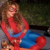 Bey dressed as Spiderwoman one year, I wonder what look she&#039;ll try this year as a mommy!