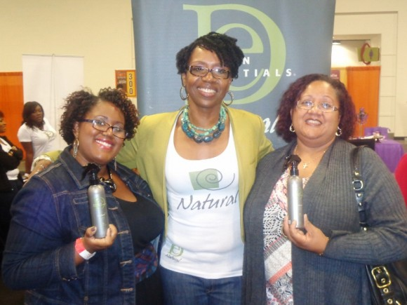 Design Essentials and Talkingpretty at World Natural Hair Show
