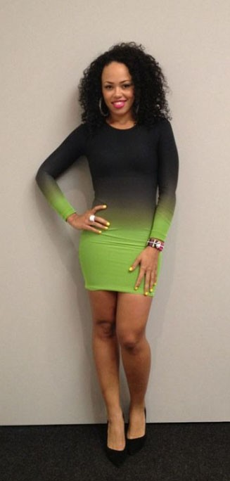 elle-varner-ekineyo-ombre-dress-bodycon-dress