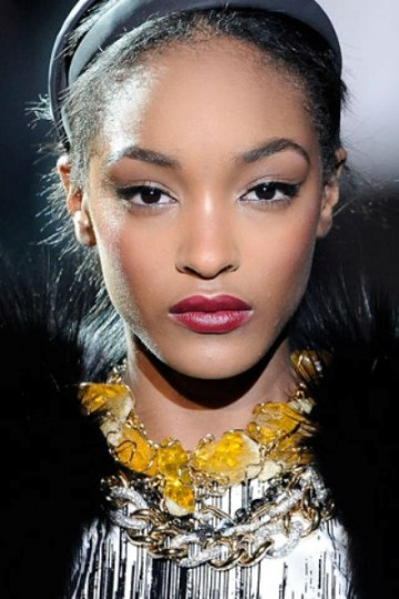 jourdan dunn the best red lips for fall 2012