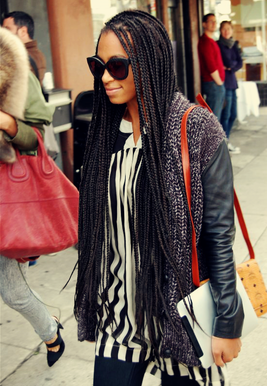 Tips for Wearing Box Braids