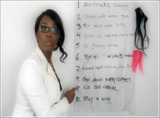 ten weave commandments