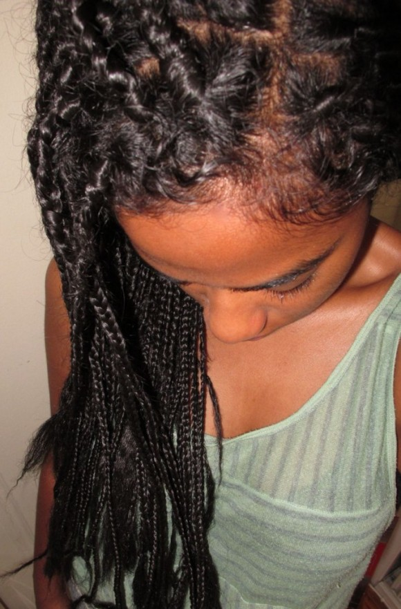 5 Tips For Wearing Box Braids Talking Pretty