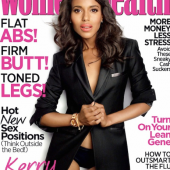Kerry Washington Covers Womens Health December 2012 Issue