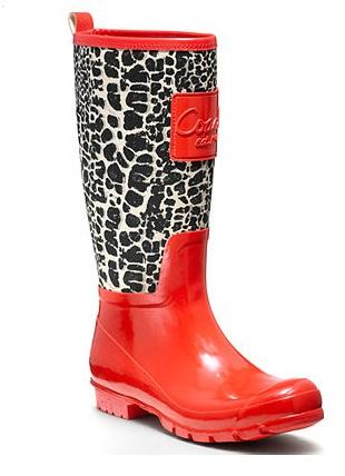 Cute Rain Boots from Macy s Shoe Sale