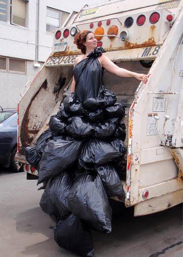 Платье из мешков своими руками