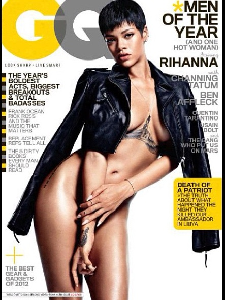 Rihanna GQ Dec 2012