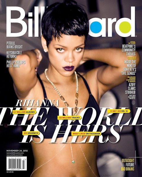 Rihanna - Billboard 2012