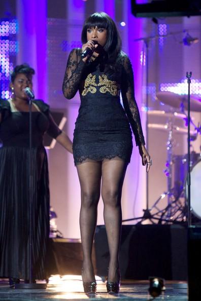 Jennifer Hudson Lace Dress