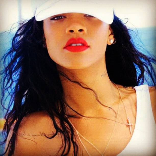 Rihanna- This week on Instagram