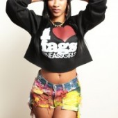 Draya Michele Fine Ass Girls black-sweatshirt