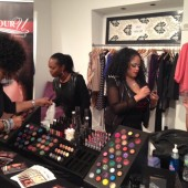 Color U Cosmetics making customers pretty!