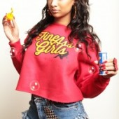 Draya Michele Fine Ass Girls red-sweatshirt
