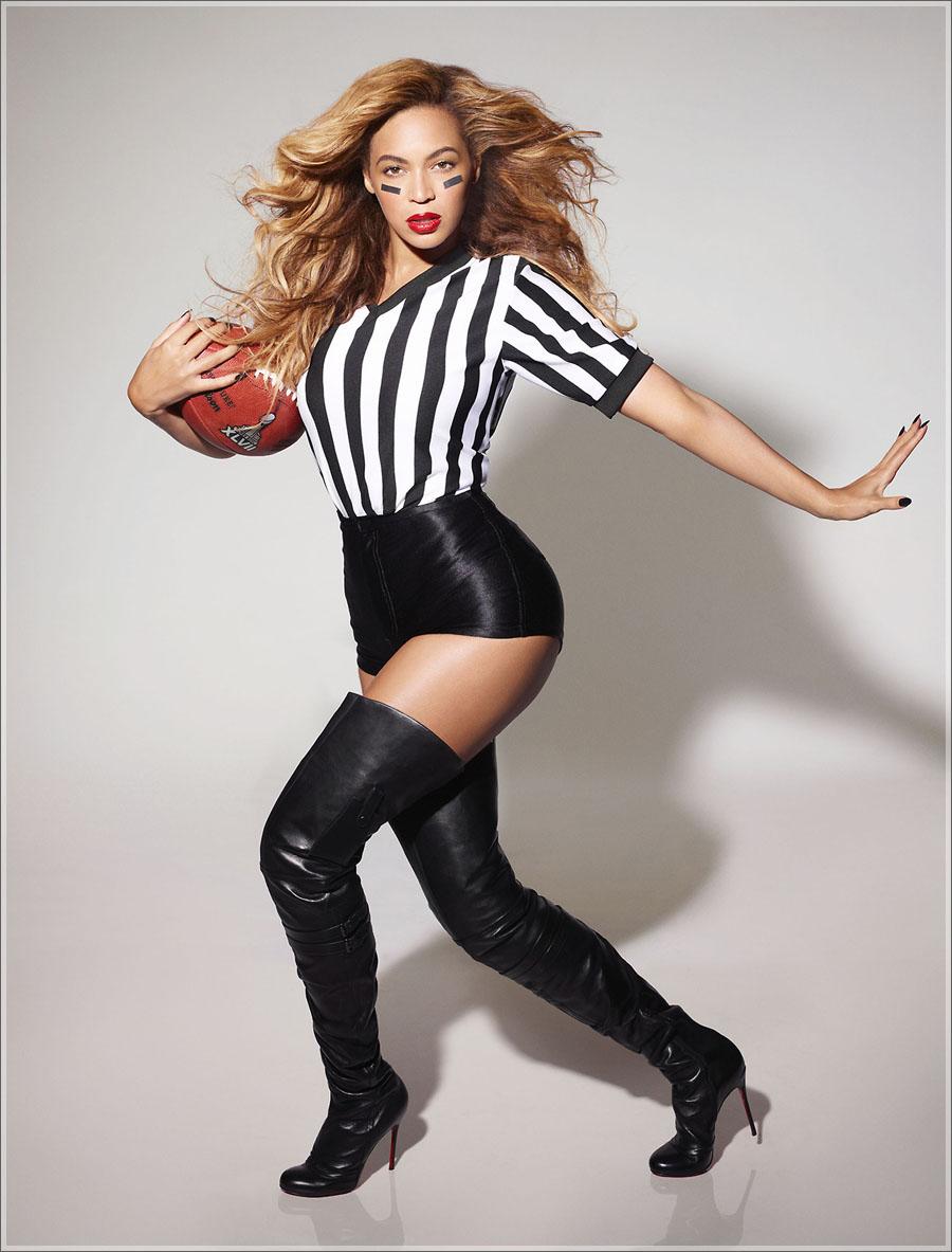 Beyonce Super Bowl outift
