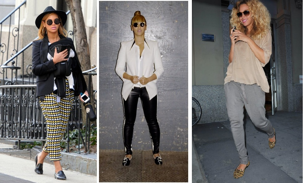 Beyonce in Loafers