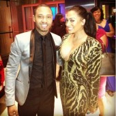 La La Anthony looks amazing as she poses with Terrence J