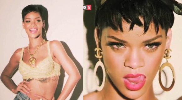 Rihanna's 2013 Complex Magazine Shoot - Behind the Scenes
