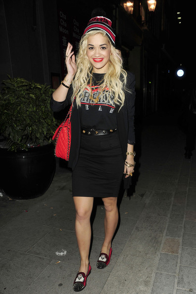 Rita Ora Loafers