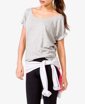 Short Sleeve Cutout Back Tee - 14.80