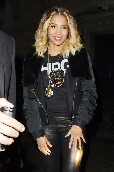 ciara-dstrkt-restaurant-london-givenchy-dog-badge-hpg-rottweiler-t-shirt-2