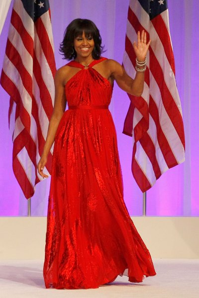 Obama Family S Inaugural Looks Talking Pretty