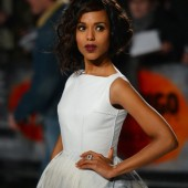 Kerry Washington's Django Unchained UK Premiere Gown