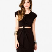 Knotted Cutout Dress $13.50 - Forever 21