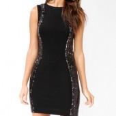 Sequined Panel Bodycon Dress - $32.80 - Forever 21