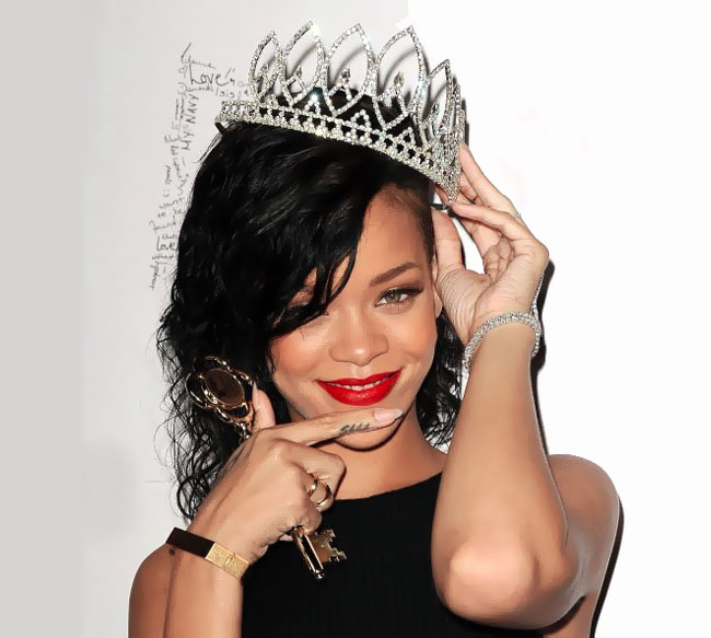 Rihanna Makeup Red Lipstick