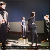 J Brand first ever presentation at NYFW