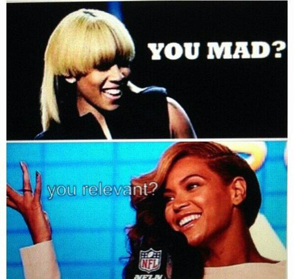 KeyshiaCole Beyonce