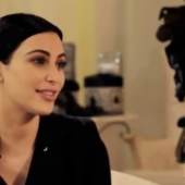 Kim Kardashian talks Minnie Mouse, and Kourtney's Donna Karan game with Du Jour Magazine