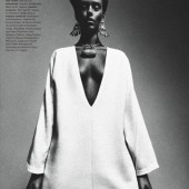 White Model Ondria Hardin Poses in Numéro's African Queen. Appropriate or Not?!