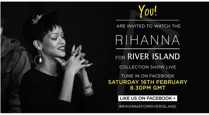 Rihanna River Island Live