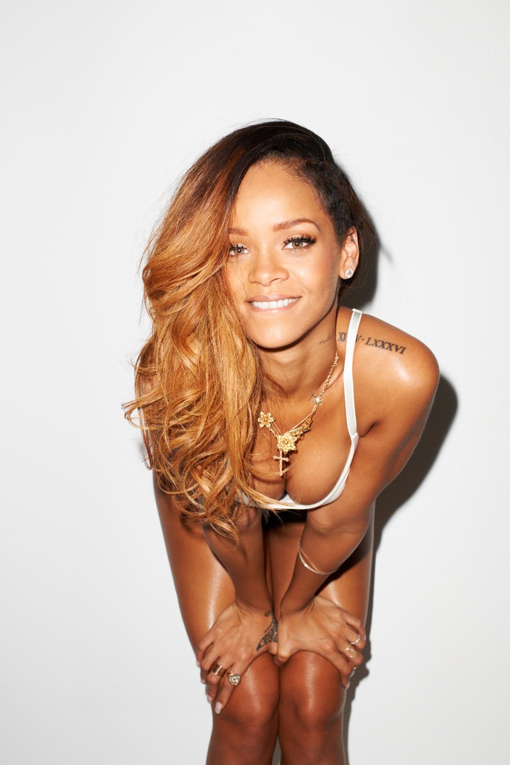 Rihanna nude gq consider, that