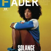 Solange Knowles Covers The Fader's Spring Style Issue