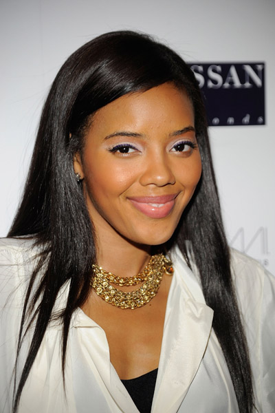 Angela Simmons lips