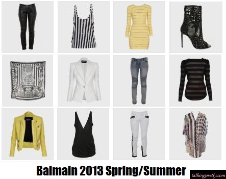 Hot Spring Splurge: Balmain