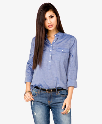 Chanbray Shirt 17.80 Forever 21