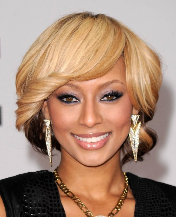 Keri Hilson blonde hair