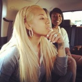 Keyshia Cole blonde