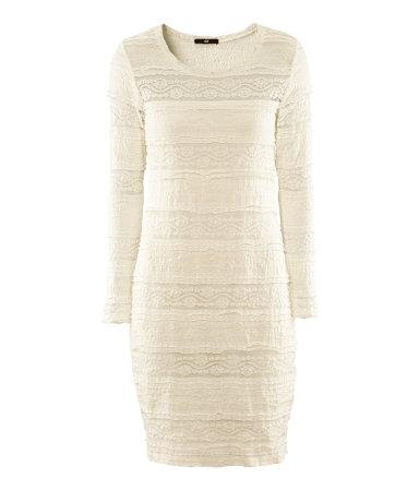 Lace Jersey Dress 34.95- HM