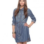Life In Progress™ Belted Denim Sundress - $29.80 - Forever 21