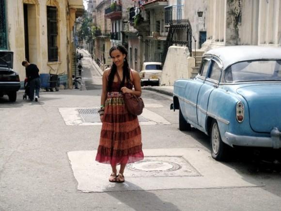 Melly Mel in Cuba