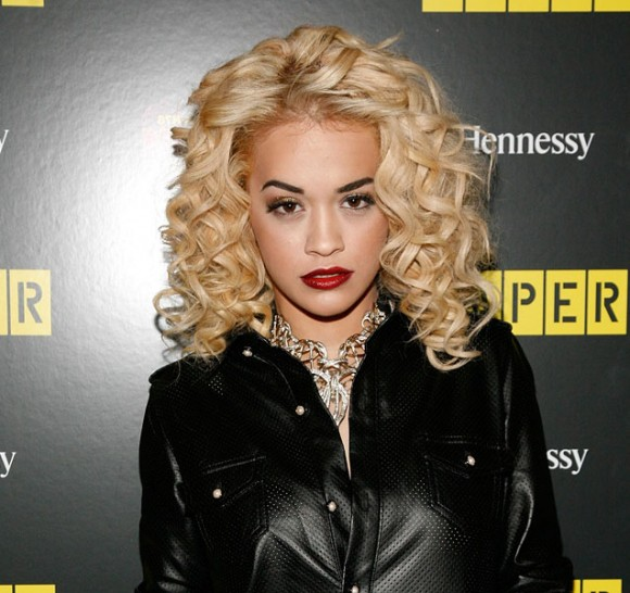 Rita Ora Blonde Hair