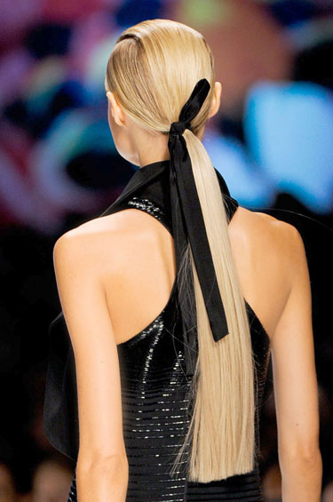 The Low Pony - Spring 2013 Hair Trends
