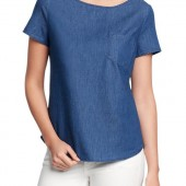 Chambray Tops - $14.99 - Old Navy