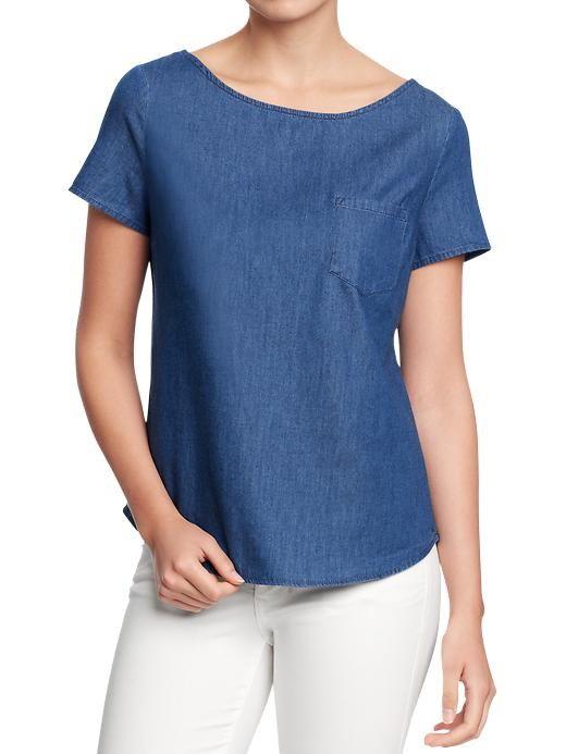 Chambray Tops 14.99 Old Navy